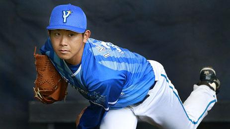 今永 昇太選手 背番号21