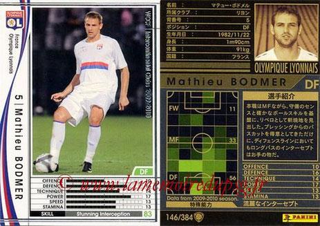 N° 146 - Mathieu BODMER (2009-10, Lyon > 2010-Janv 12, PSG)