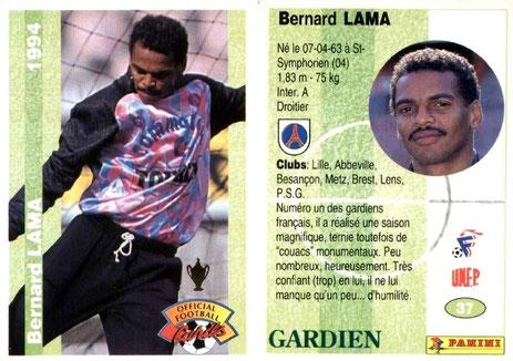 N° 037 - Bernard LAMA