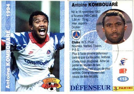 N° 123 - Antoine KOMBOUARE