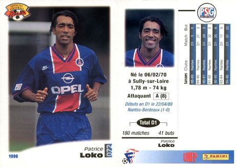 N° 072 - Patrice LOKO