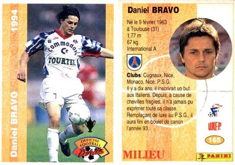 N° 165 - Daniel BRAVO