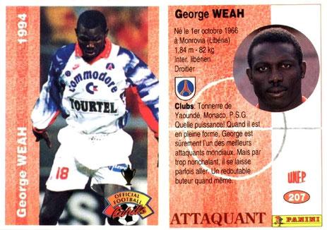 N° 207 - George WEAH
