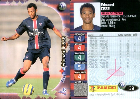 N° 139 - Edouard CISSE