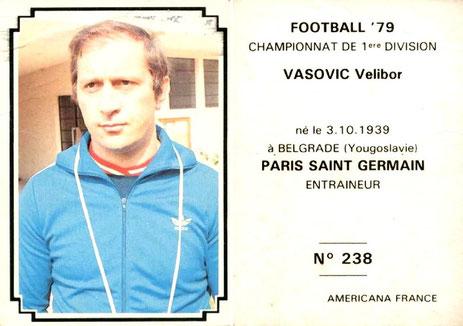 N° 238 - Velibor VASOVIC