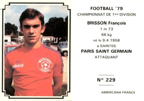 N° 229 - François BRISSON