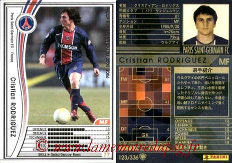 N° 123 - Cristian RODRIGUEZ