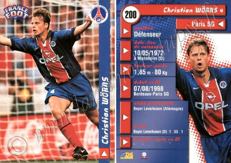 N° 200 - Christian WORNS