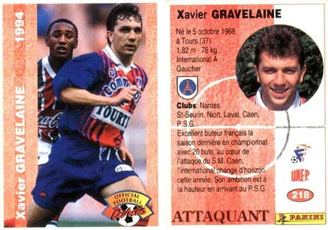 N° 218 - Xavier GRAVELAINE