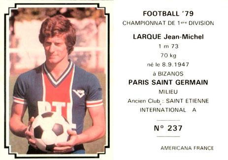 N° 237 - Jean-Michel LARQUE