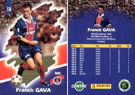 N° 134 - Franck GAVA