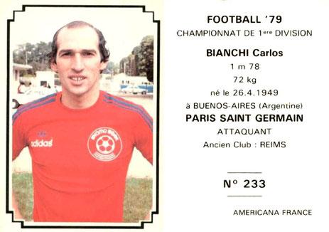 N° 233 - Carlos BIANCHI