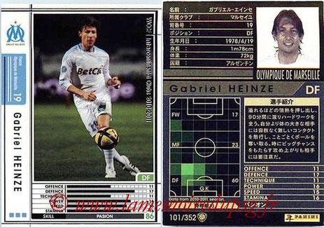 N° 101 - Gabriel HEINZE (2001-04, PSG > 2010-11, Marseille)