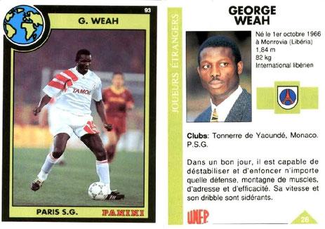 N° 028 - George WEAH