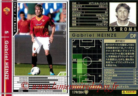 N° 179 - Gabriel HEINZE (2001-04, PSG > 2011-12, AS Roma, ITA)