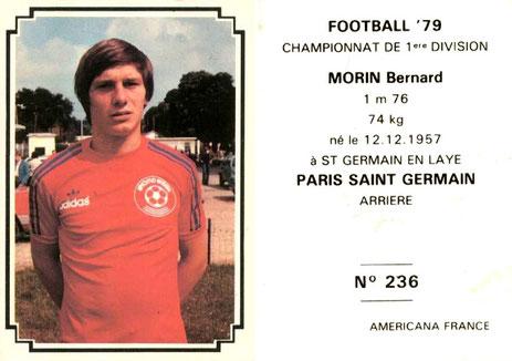 N° 236 - Thierry MORIN (Et non pas Bernard !!!)
