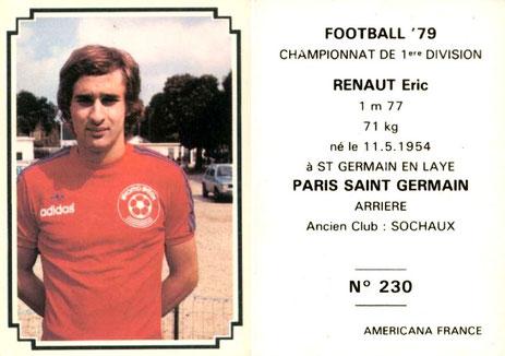 N° 230 - Eric RENAUT