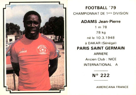 N° 222 - Jean-Pierre ADAMS