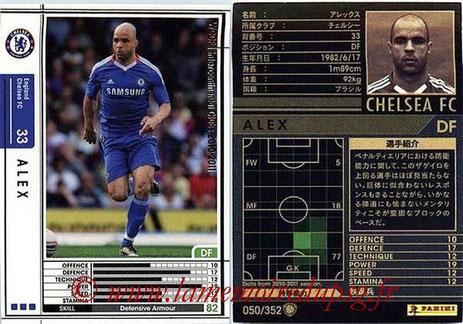 N° 050 - ALEX (2010-11, Chelsea, ANG > Jan 2012-??, PSG)