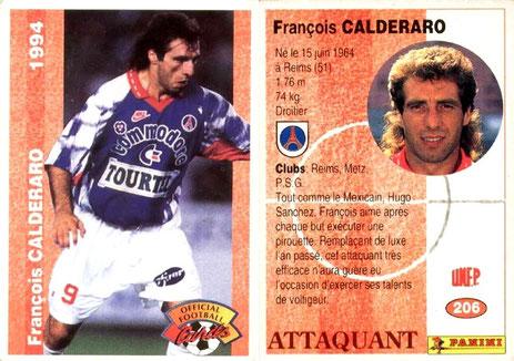 N° 206 - François CALDERARO