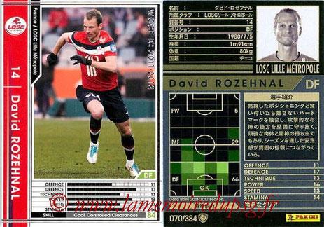 N° 070 - David ROZEHNAL (2005-07, PSG > 2011-12, Lille)