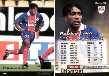 N° 180 - Patrice LOKO
