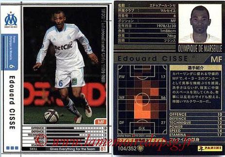 N° 104 - Edouard CISSE (1997-07, PSG > 2010-11, Marseille)