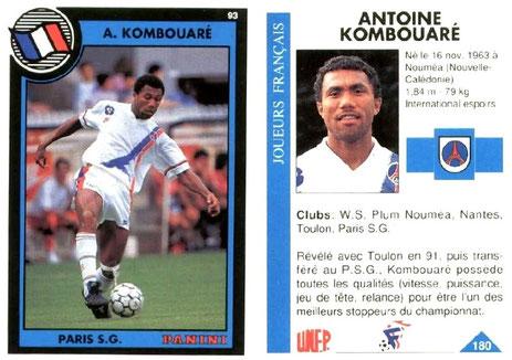 N° 180 - Antoine KOMBOUARE