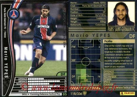 N° 118 - Mario YEPES