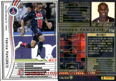 N° 126 - Fabrice PANCRATE