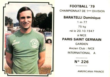 N° 226 - Dominique BARATELLI