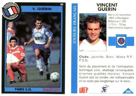 N° 266 - Vincent GUERIN