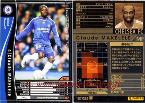 N° 107 - Claude MAKELELE (2007-08, Chelsea, GBR > 2008-11, PSG)