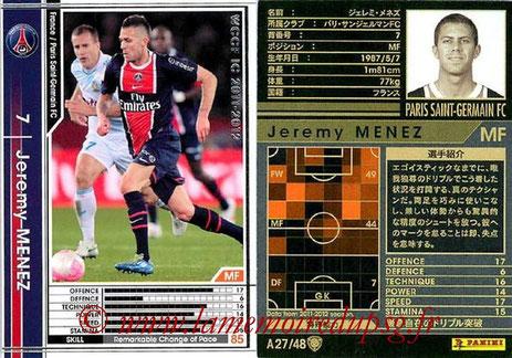 N° A27 - Jérémy MENEZ