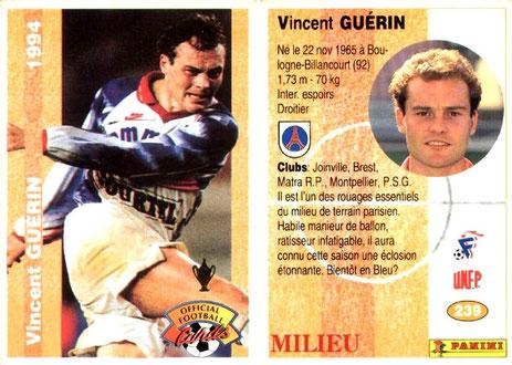 N° 239 - Vincent GUERIN