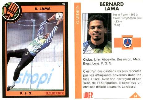 N° 014 - Bernard LAMA