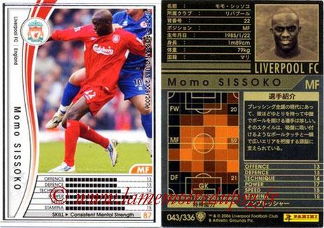 N° 043 - Momo SISSOKO (2005-06, Liverpool, ANG > 2011-Jan 13, PSG)