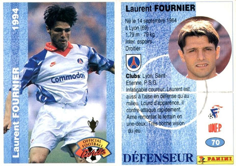 N° 070 - Laurent FOURNIER