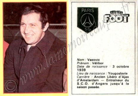 Vélibor VASOVIC