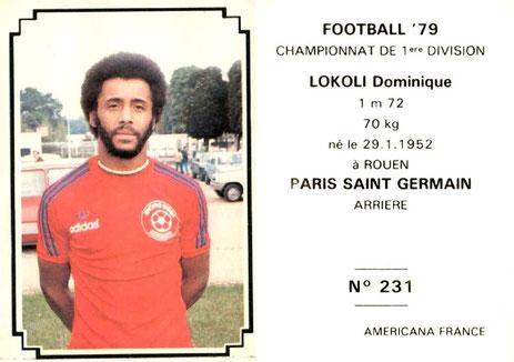 N° 231 - Dominique LOKOLI