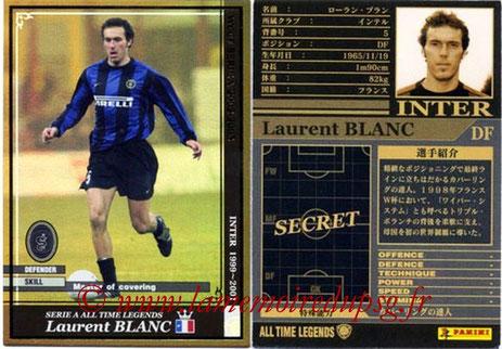 N° ATLE02 - Laurent BLANC (1999-01, Inter Milan, ITA > 2013-??, Entraîneur PSG)