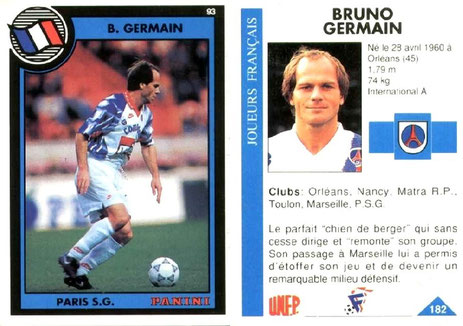 N° 182 - Bruno GERMAIN