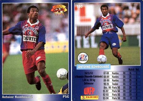N° 150 - Antoine KOMBOUARE