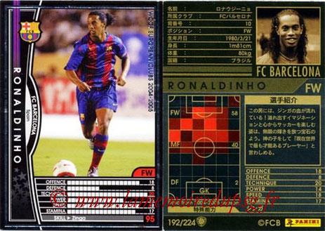 N° 192 - RONALDHINO (2001-03, PSG > 2004-05, FC Barcelone, ESP)