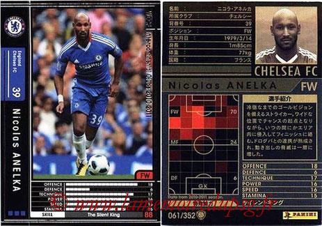 N° 061 - Nicolas ANELKA (1995-97 puis 2000-Jan 02, PSG > 2011-12, Chelsea, GBR)