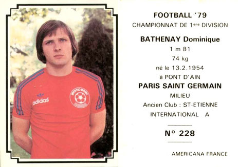 N° 228 - Dominique BATHENAY