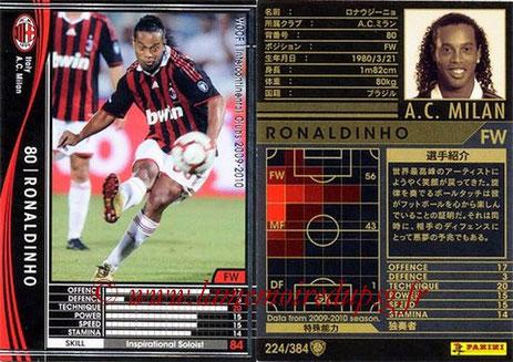 N° 224 - RONALDHINO (2001-03, PSG > 2009-10, Milan AC, ITA)