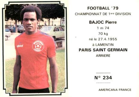 N° 234 - Pierre BAJOC