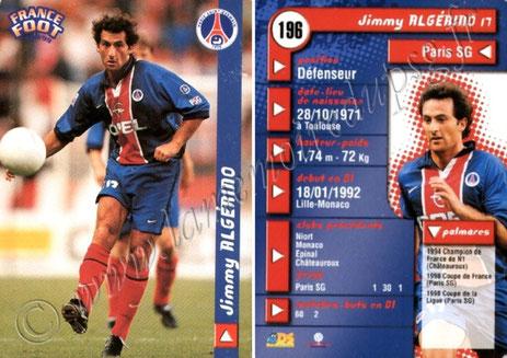 N° 196 - Jimmy ALGERINO