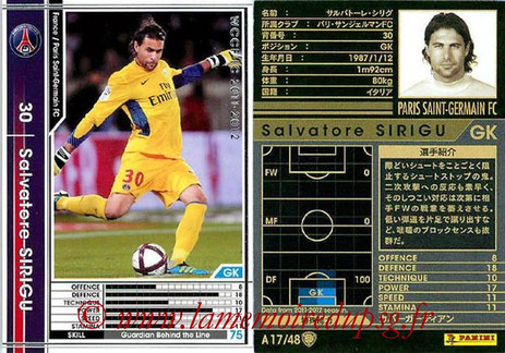 N° A17 - Salvatore SIRIGU